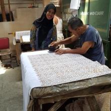 Pembuatan Batik Cap